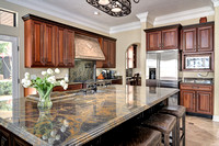 gorgeous kitchen in a luxury home in winter park florida
