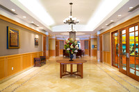 picture of the lobby of the Wellesley Condominium building on Edgewater drive in Orlando Florida