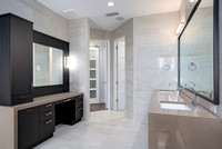 Empire Custom Builders modern home master bathroom in Deland Florida
