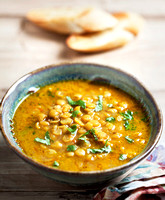 Indian dahl in a bowl